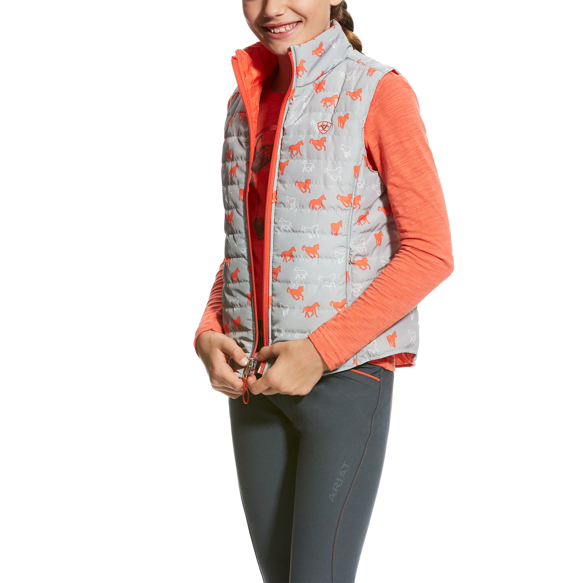 Girls Emma Reversible Vest