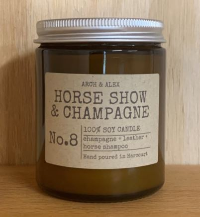 The Horse Show & Champagne Candle