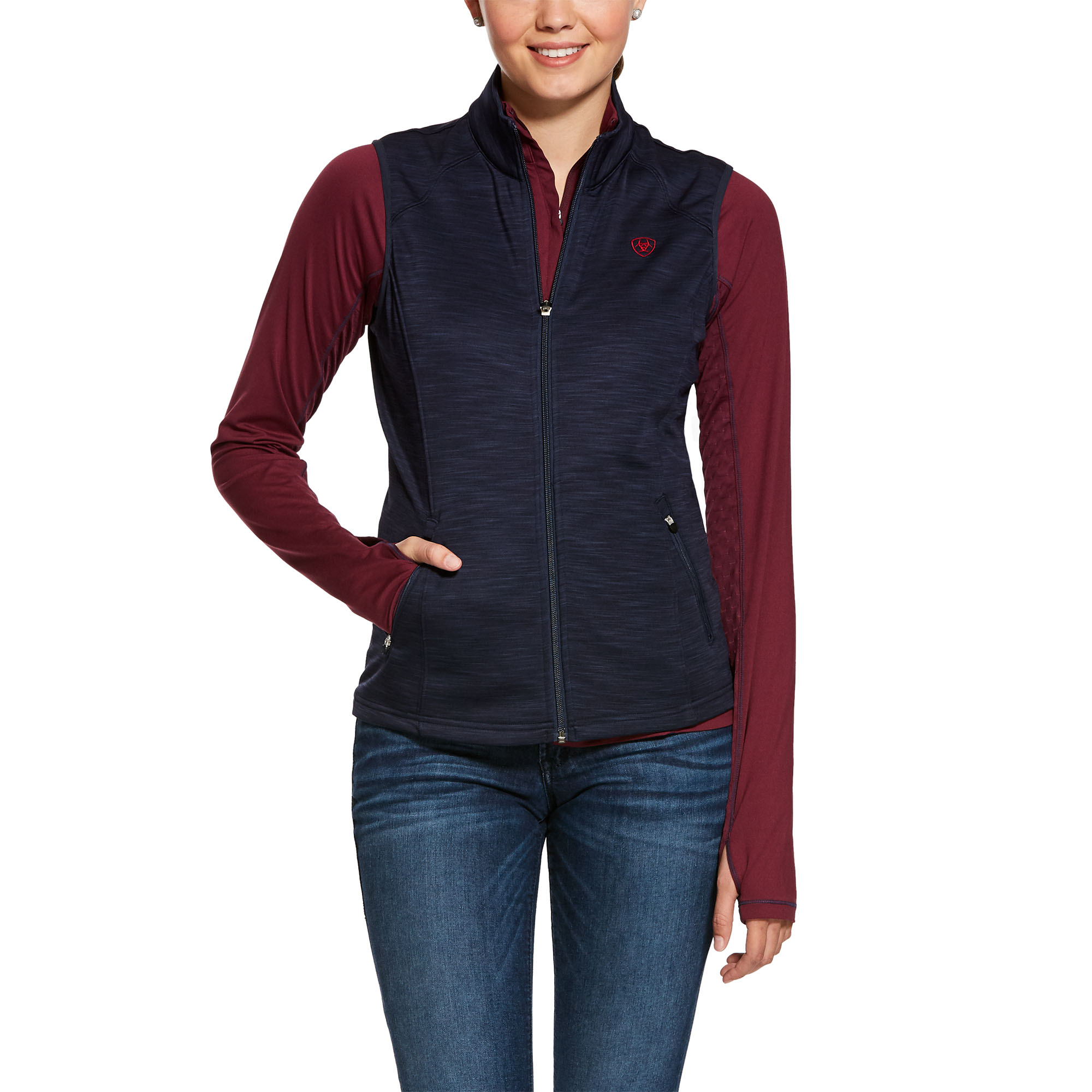 Ariat Womens Conquest Full Zip Vest