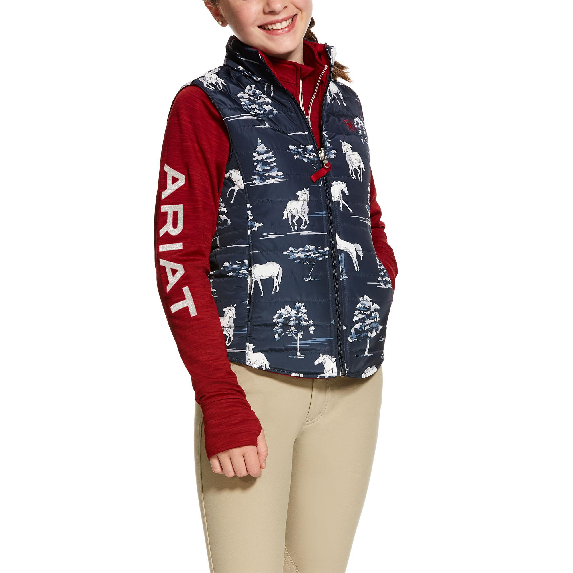 Girls Emma Reversible Vest