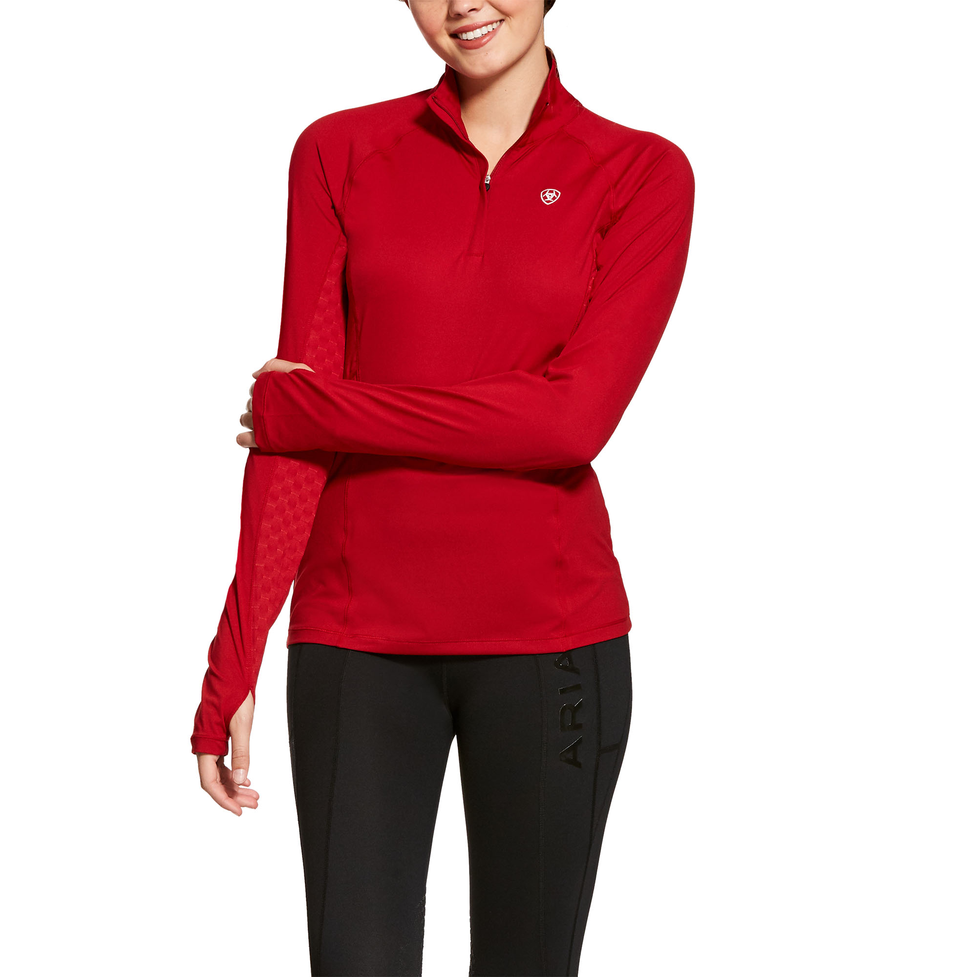 Ariat Womens Lowell 2.0 Quarter Zip Long Sleeve