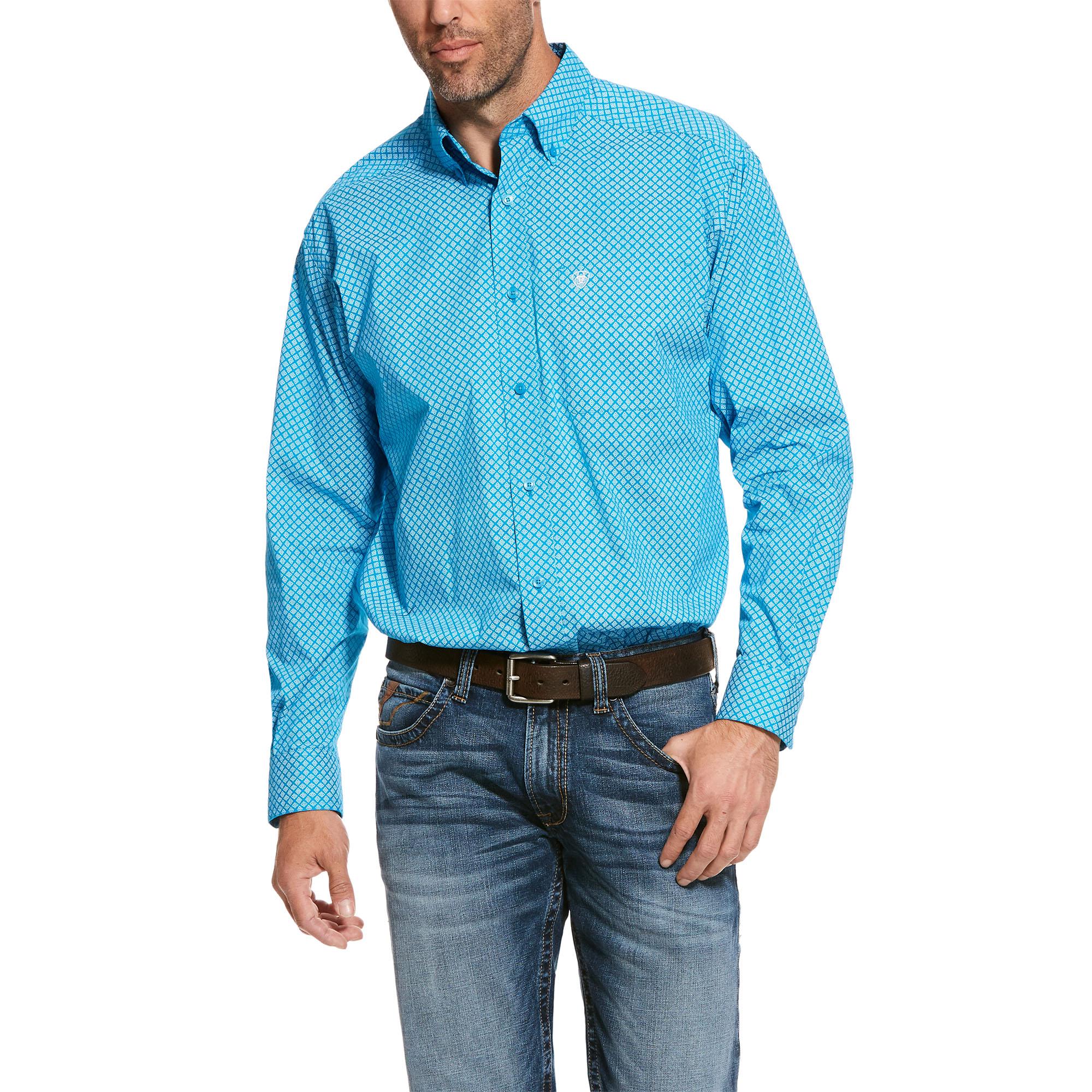 Ariat Mens Scott Long Sleeve Shirt