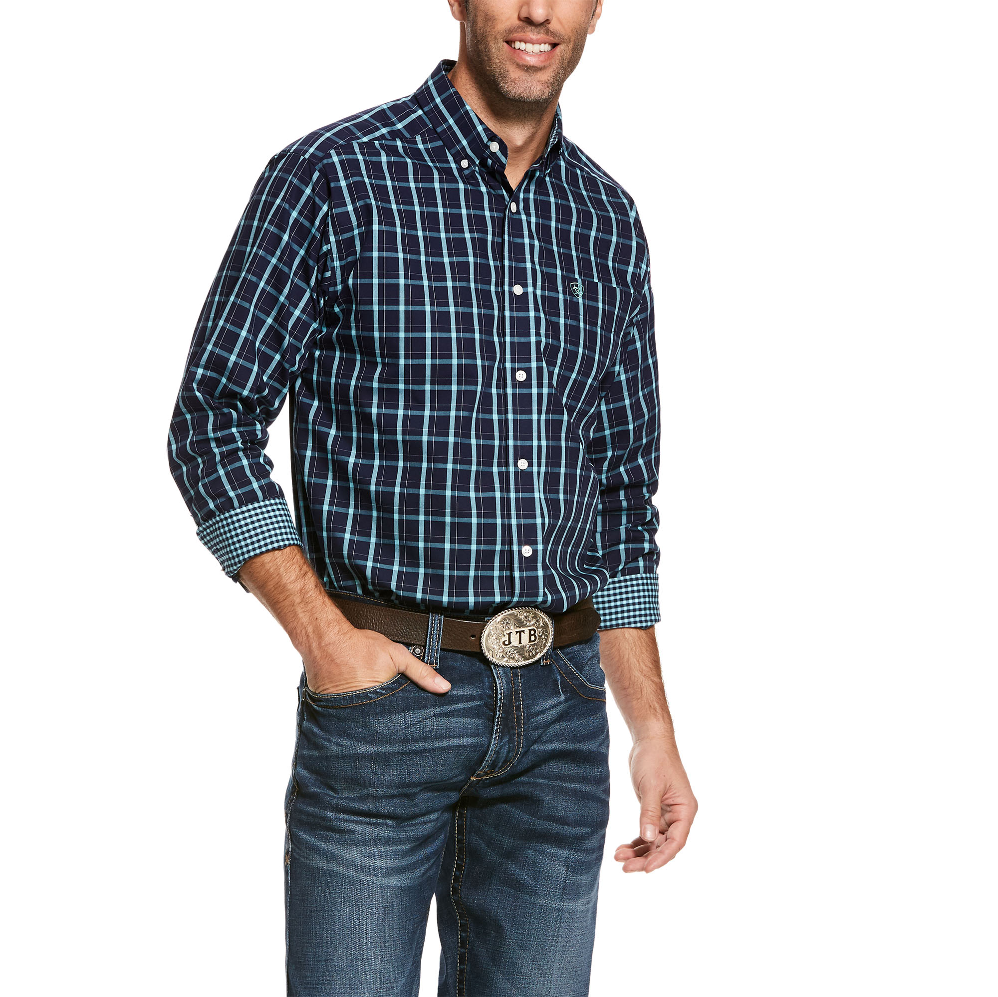 Ariat Wademan Classic Long Sleeve Shirt