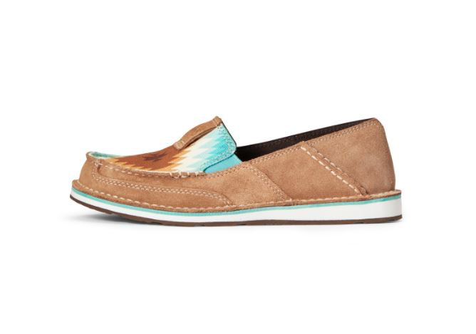 Ariat Womens Suede Cruiser Slip On