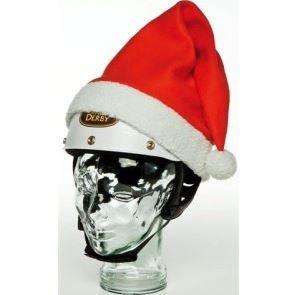 Christmas Santa Hat Helmet Cover