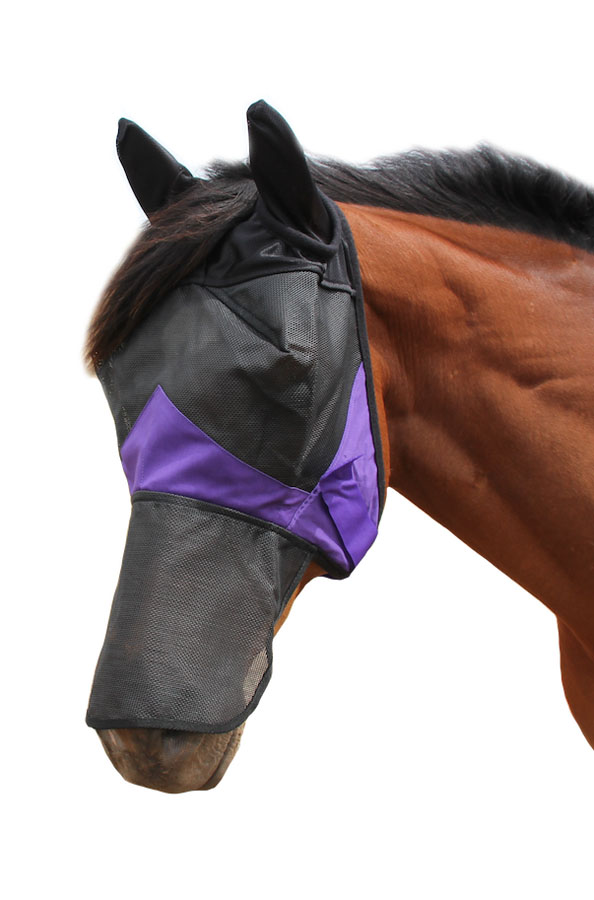 Derby Deluxe Fly Mask With Ear And Nose