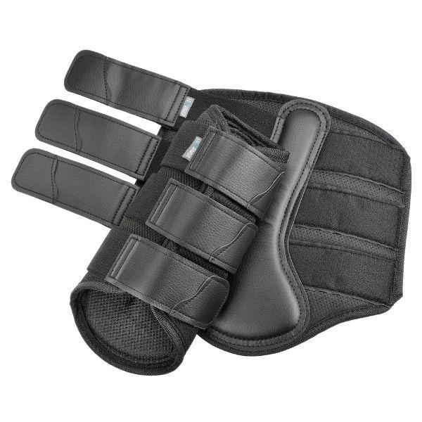 EQ Armour AirTec 3D Mesh Brushing Boots Black