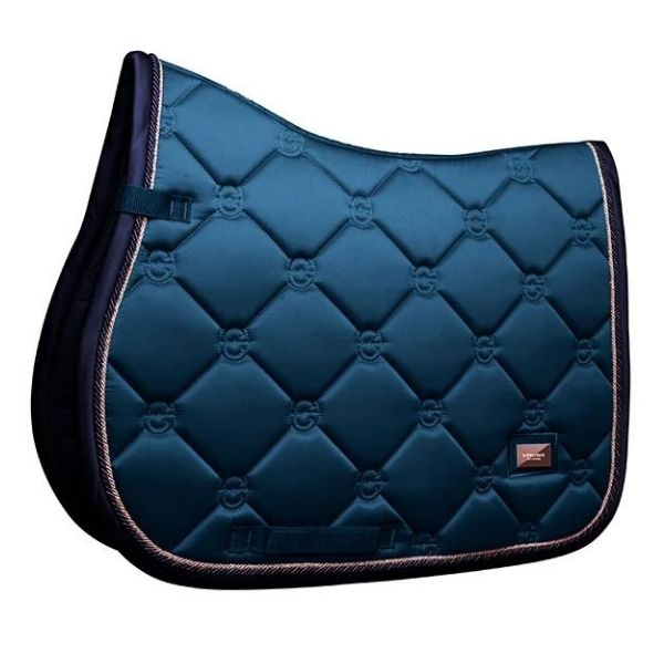 Equestrian Stockholm Jump Saddle Pad Monaco Blue