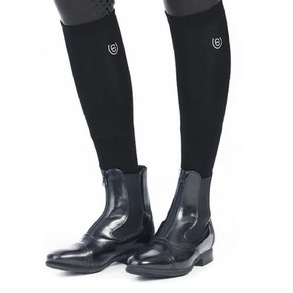 Equestrian Stockholm Knee Socks Black