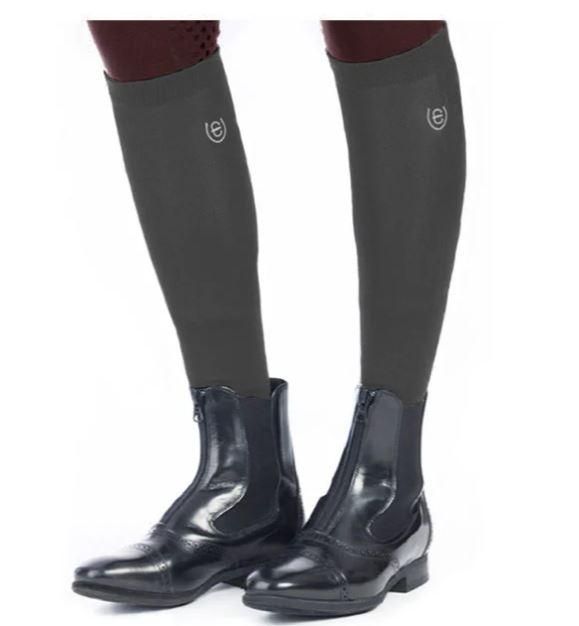 Equestrian Stockholm Knee Socks Grey