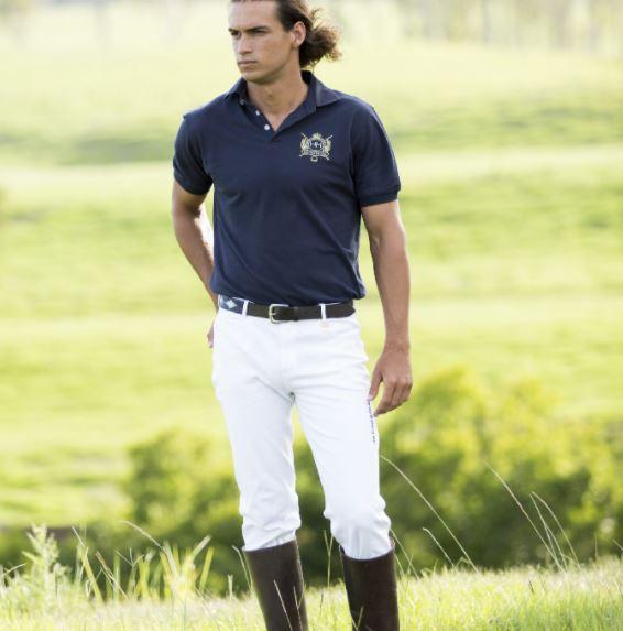 Hampton and Harlow Mens Polo Jean