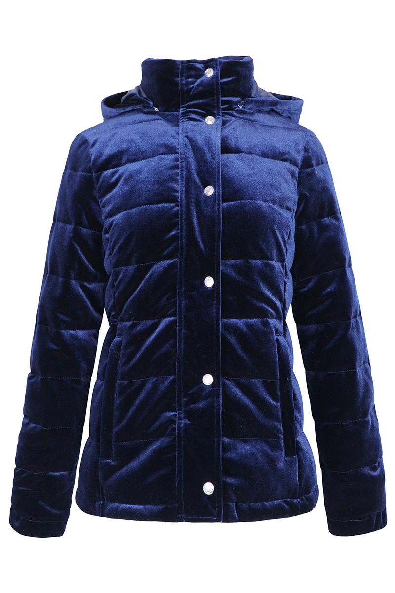 Harcour Amy Velvet Padded Jacket