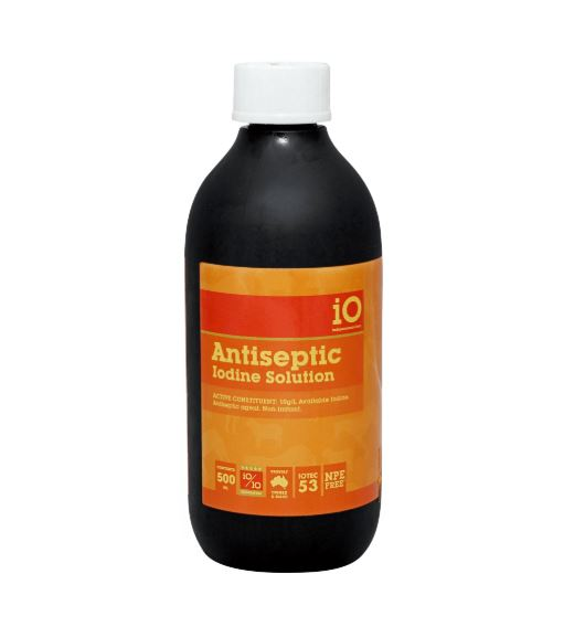 iO Antiseptic Iodine Solution