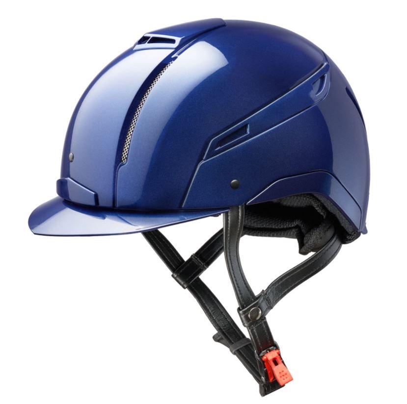 Jin Stirrup Coloured Icona Helmet Blue