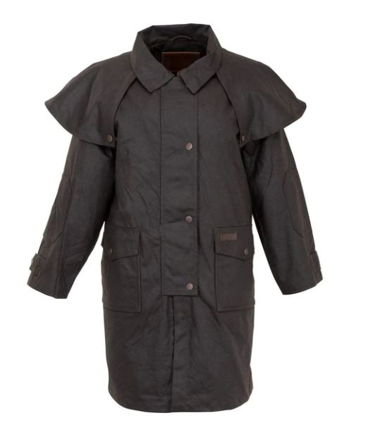Outback Kids Oilskin Duster