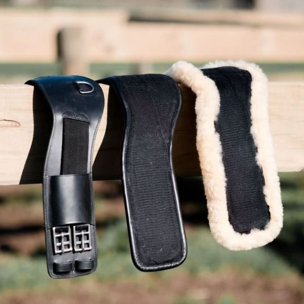 Lumiere Shell Anatomic Dressage Girth- Build Your Own Black