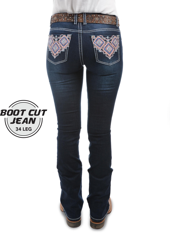 Pure Western Womens Macy Boot Cut Jean