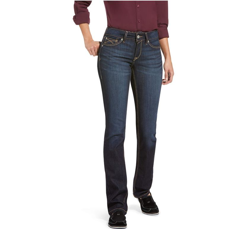 Womens R.E.A.L. Jean Straight Leg Regular Margaret