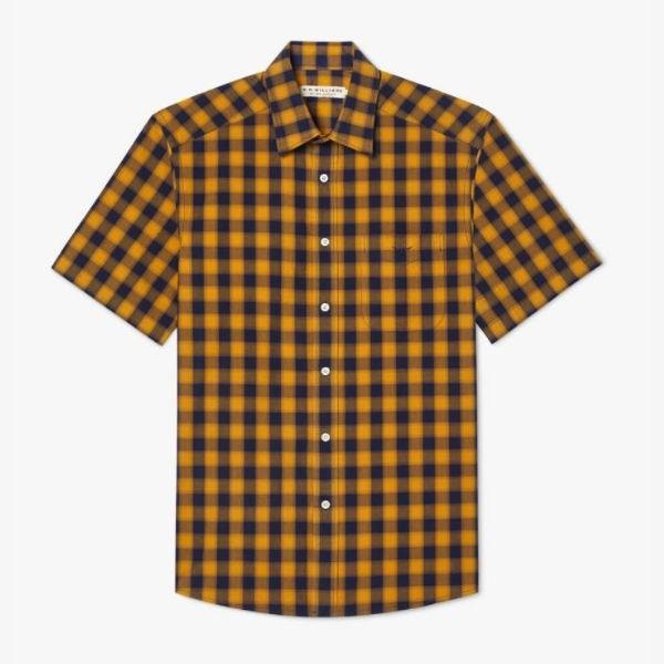 RMW Hervey Shirt Brindle and Navy