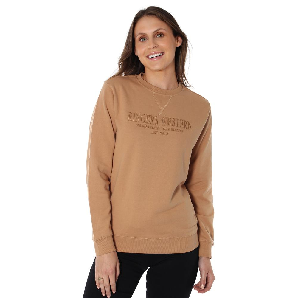 Ringers Womens Kooyong Crew Neck Pullover