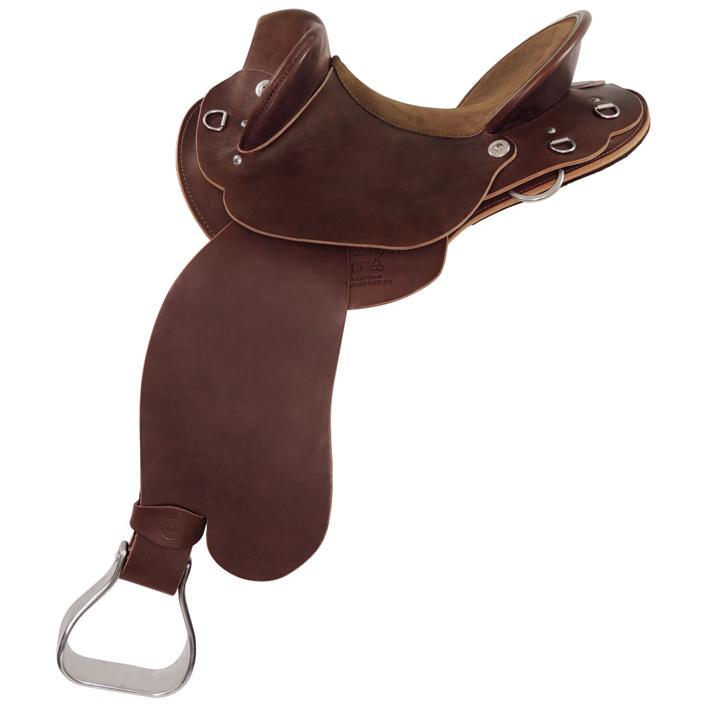 Toowoomba Saddlery Sunset Drafter Fender Saddle
