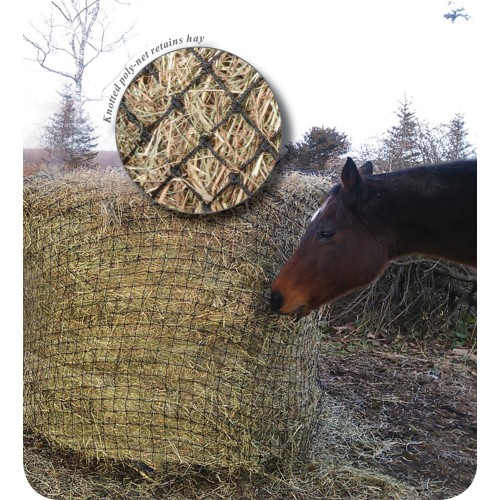 Round Bale Poly Slow Feed Haynet 5X4