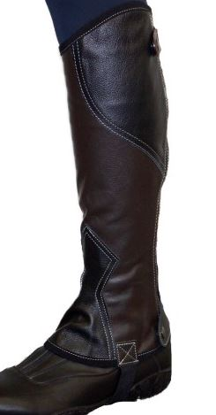 GG Rider Two Tone Leather Gaiter
