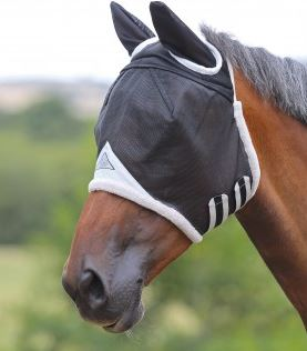 Shires FD Fly Mask With Ears