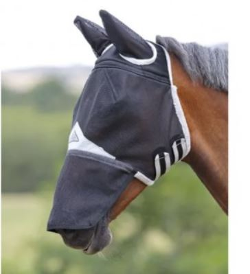 Shires FD Fly Mask With Ears & Nose