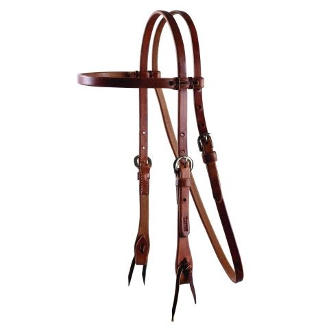 Schutz Cowboy Laced Browband Headstall