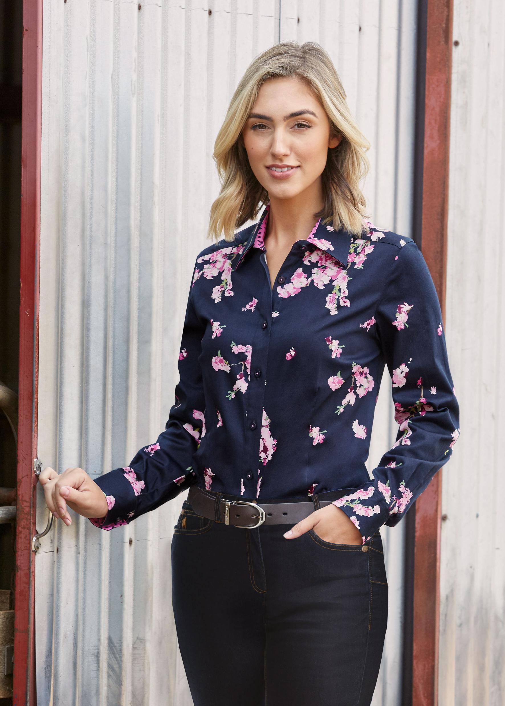 Thomas Cook Womens Blossom Long Sleve Shirt