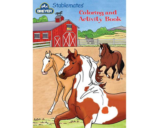 Breyer Activity Colouring And Activity Book