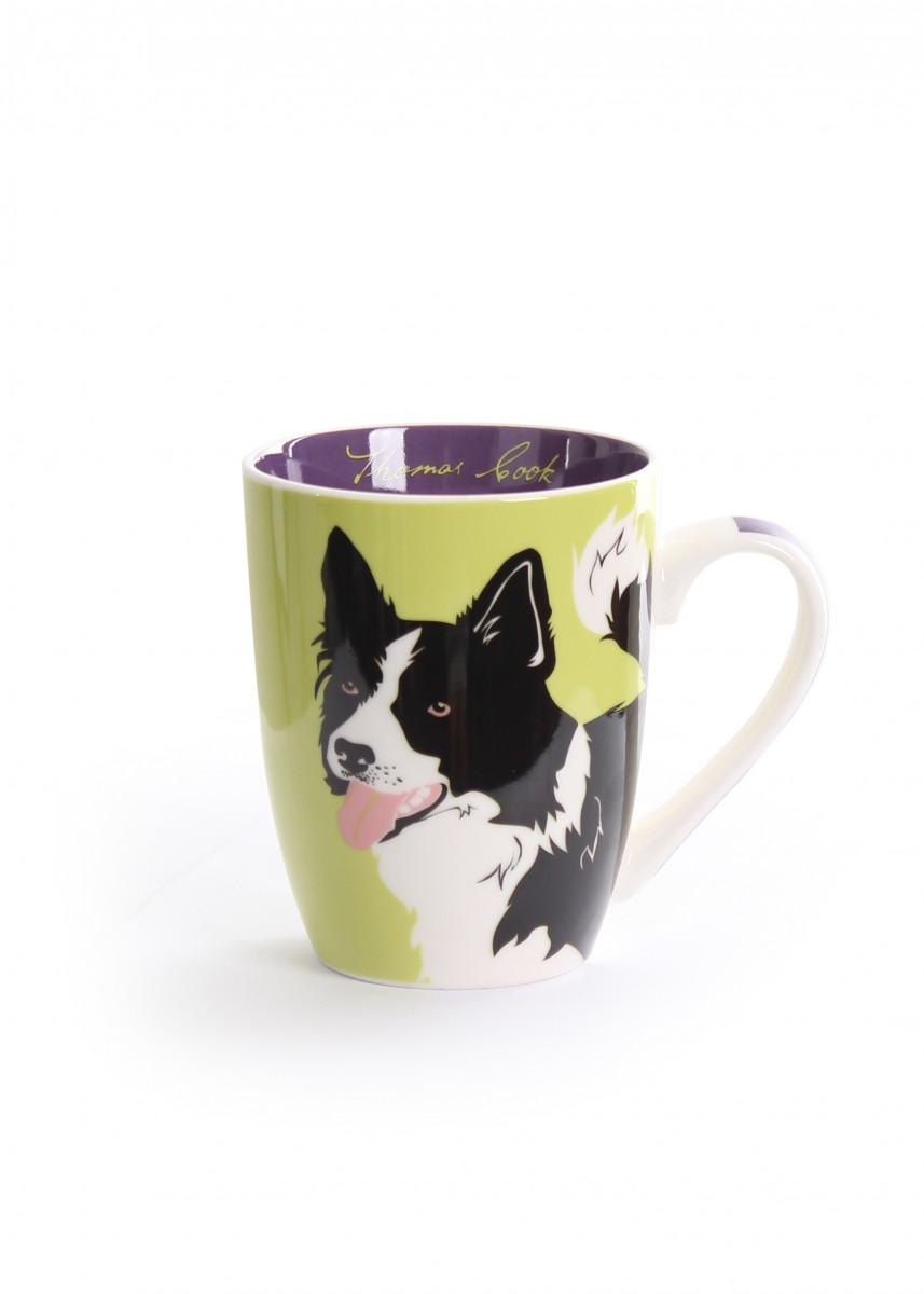 Thomas Cook Farm Mug Border Collie