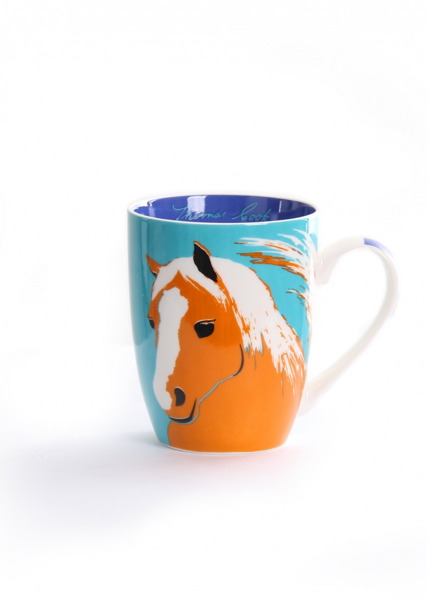 Thomas Cook Farm Mug Horse