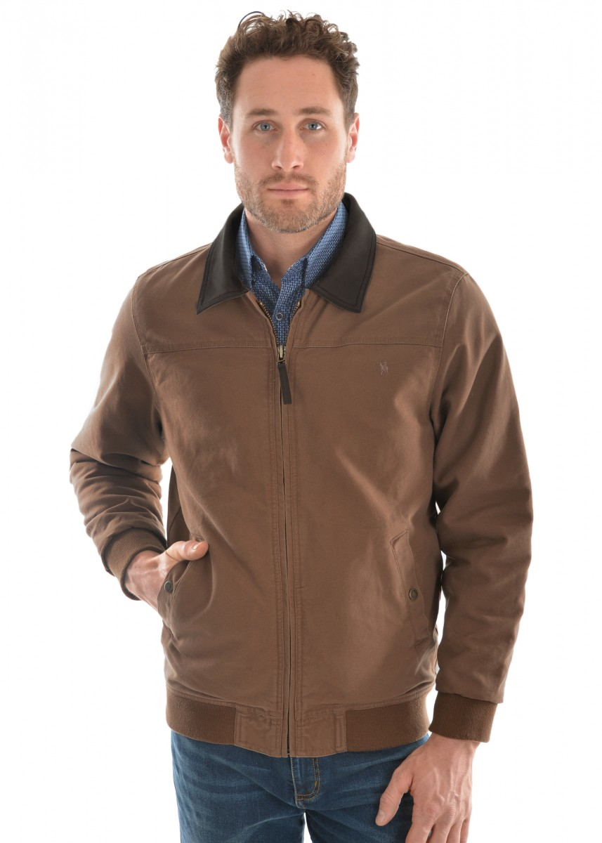 Thomas Cook Mens Canvas Bomber