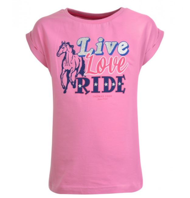 Thomas Cook Childs Live Love Ride Tee