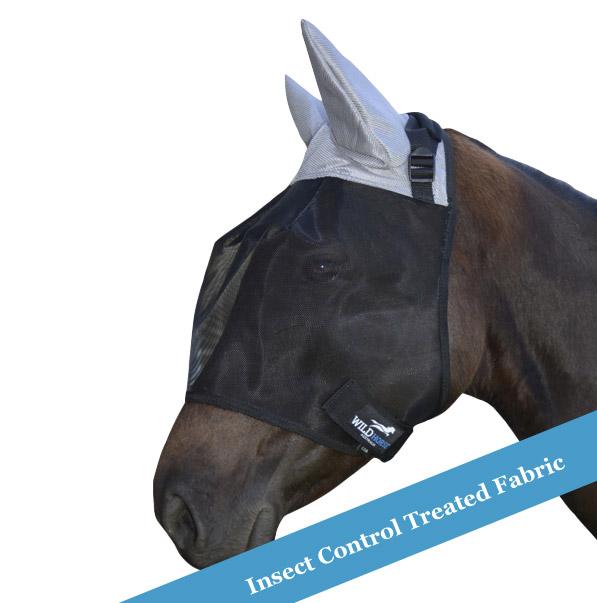 Wild Horse Fly Veil Ir Ears 3 Dart Pony