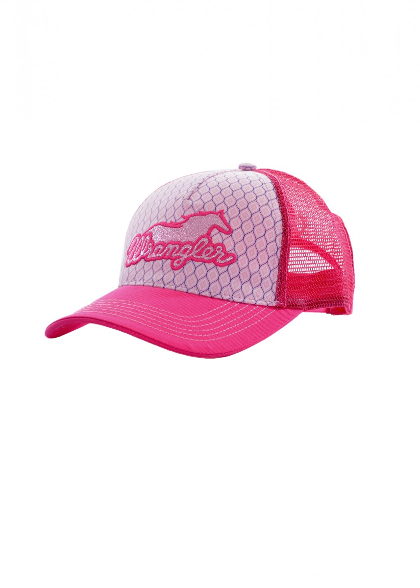 Wrangler Girls Lacey Trucker Cap