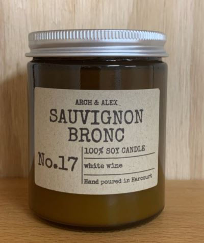 The Sauvignon Bronc Candle