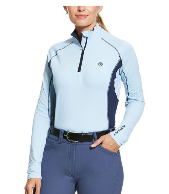 Ariat Tri Factor 1/4 Zip Long Sleeve
