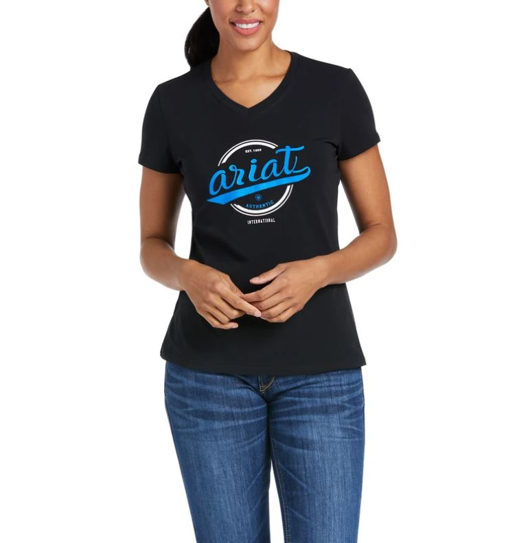 Ariat Authentic Logo Tee Black