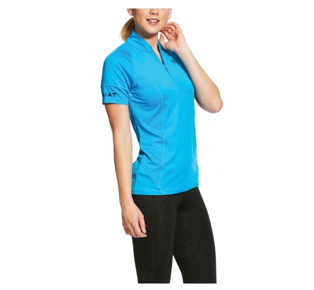 Ariat Cambria Jersey 1/4 Zip Short Sleeve