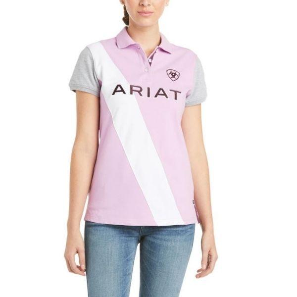 Ariat Taryn Button Polo Violet