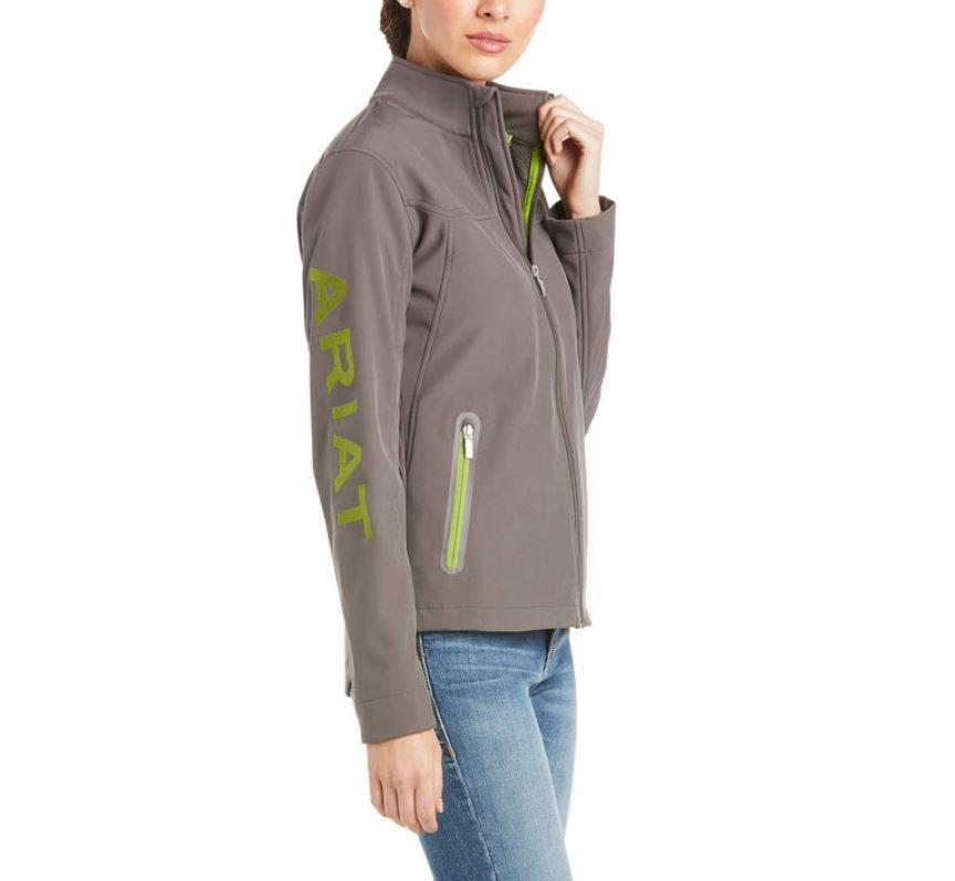 Ariat Team Softshell Jacket Grey