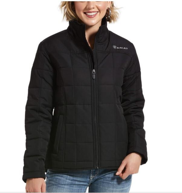 Ariat Womens REAL Crius Jacket Black