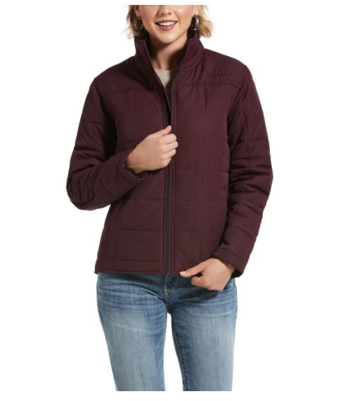 Ariat Womens REAL Crius Jacket Winetasting
