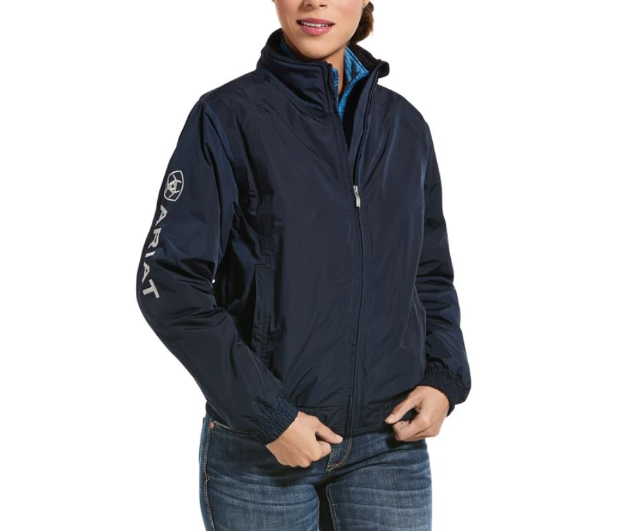 Ariat Womens Stable Jacket Navy