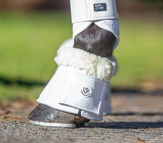 BARE Carbon Bell Boots White