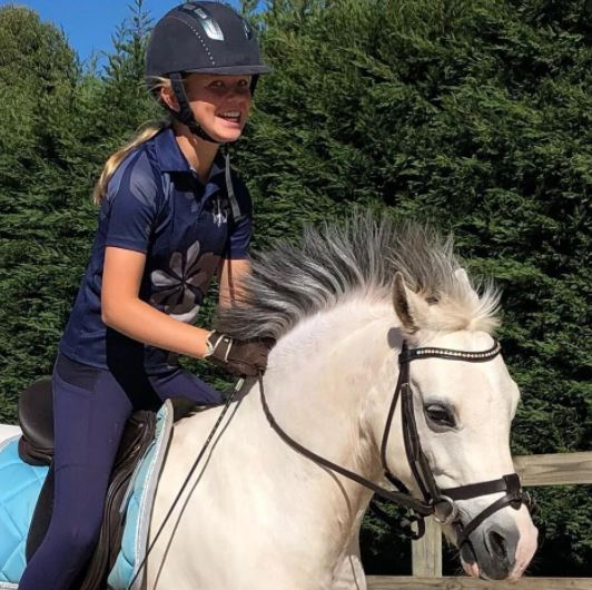 BARE Youth Performance Riding Tight Oxford Navy