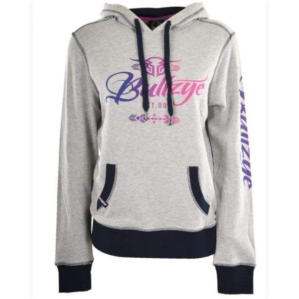 Bullzye Womens Wild and Free Pullover Hoodie